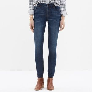 Madewell high riser skinny jeans size 28